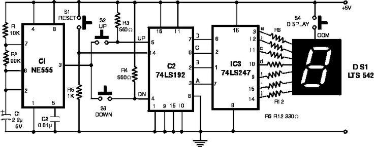 electronics scoring game circuit diagram
