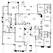 3000 sq ft 1 story ranch style floor plans Google Search