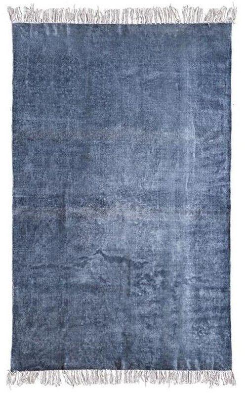 Mono vloerkleed blauw 200x290 - By Boo