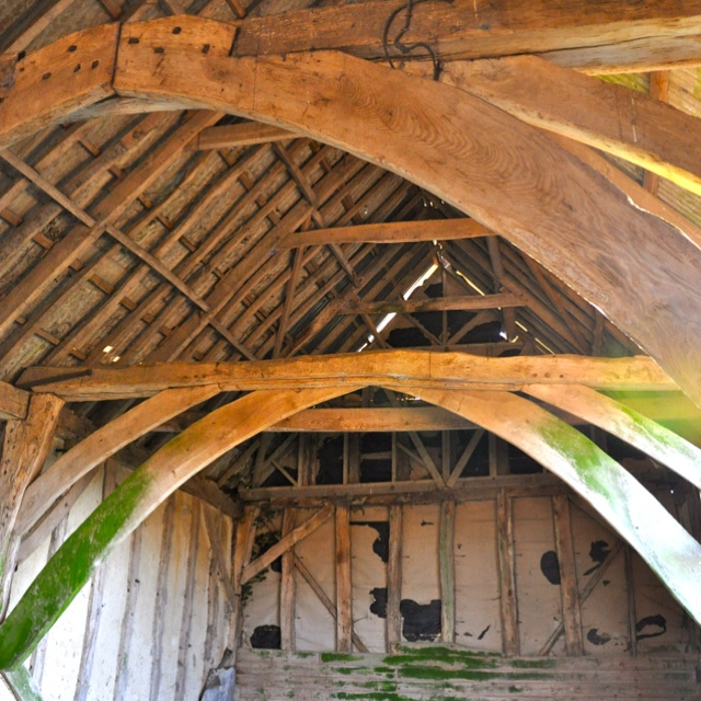 14th century English oak barn with planning approval - my next development