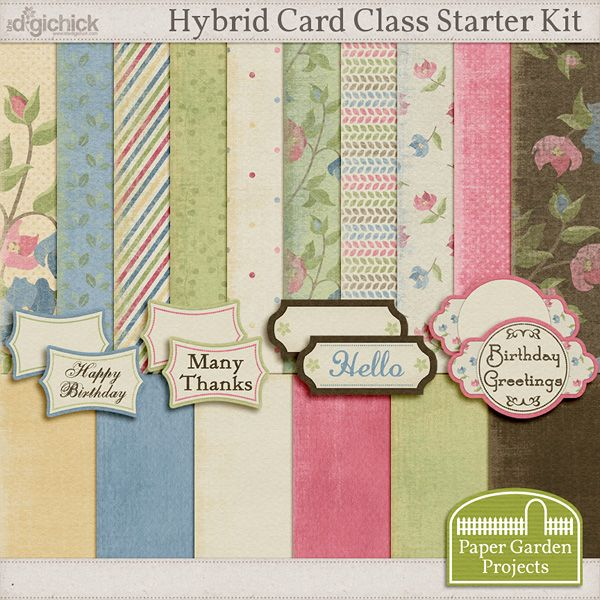 Free Hybrid Crafting Classes Online Videos From Paper Garden Projects The Include A Digital