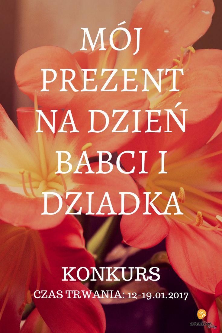 Zapraszamy do udziału w kreatywnym konkursie z okazji Dnia Babci i Dziadka!    Oto Regulamin: http://www.creativehobby.pl/konkurs-dzien-babci-i-dziadka-c_258.html    A tutaj wersja na telefony i tablety: http://m.creativehobby.pl/page/konkurs-dzien-babci-i-dziadka Powodzenia!