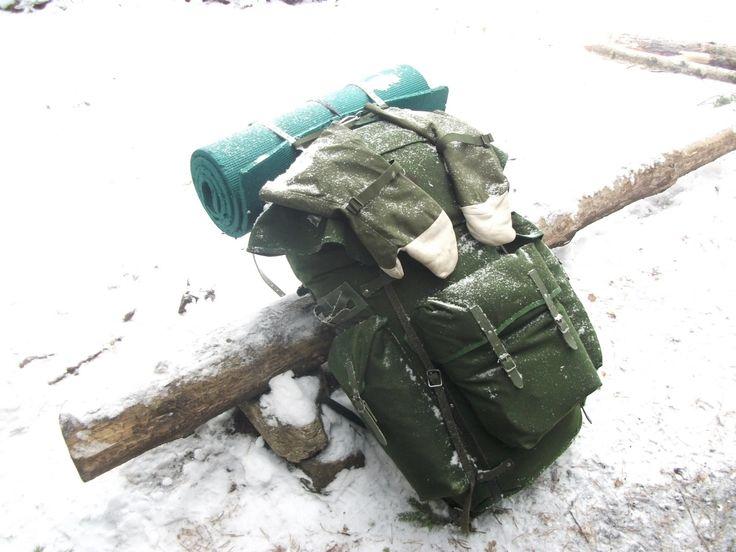 Wilderness Living - : LK70 Swedish Army Rucksack