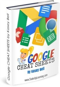This ebook includes 8 Google Cheat Sheets for Teachers and Students, including: The NEW Google Drive, Google Docs, Google Forms, Google Slides, Google Sheets, Google Drawings, Google Drive for the iPad, and Google Chrome! Each cheat sheet is filled with tips, tricks, and how-to information to take your Google Apps skills to the next level.