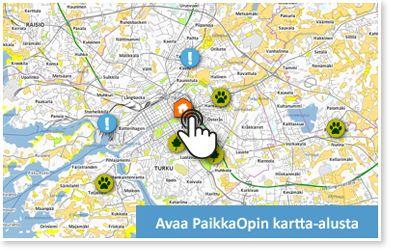 PaikkaOppi.fi on paikkatietotaitojen, maantieteen ja ympäristön tutkimuksen opetukseen suunniteltu verkkopohjainen oppimisympäristö.