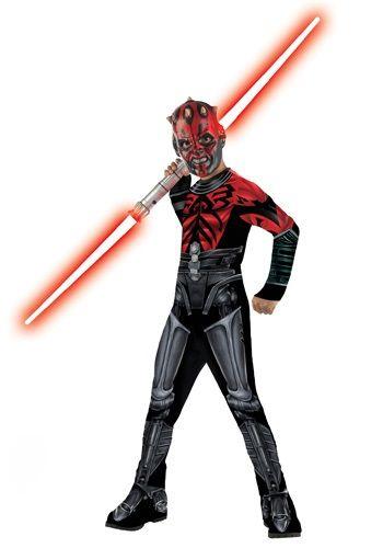 Child Clone Wars Darth Maul Costume