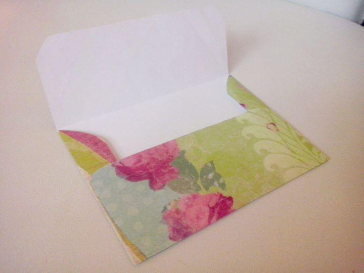 Elegant envelope!! Fanpage on facebook: /youcandoit.tienda