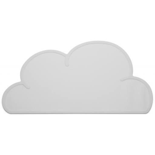 KG Design - Wolken-Tischset grau