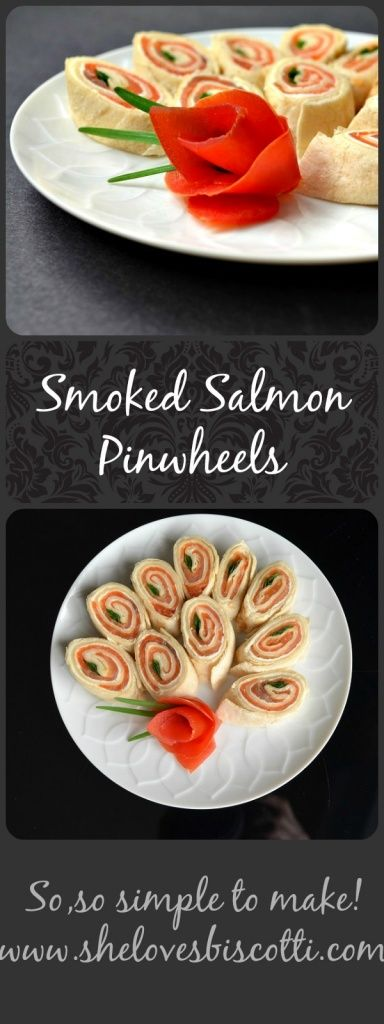 This recipe for Smoked Salmon Pinwheels is so simple, you will finally be able to enjoy your party just as much as your guests do!