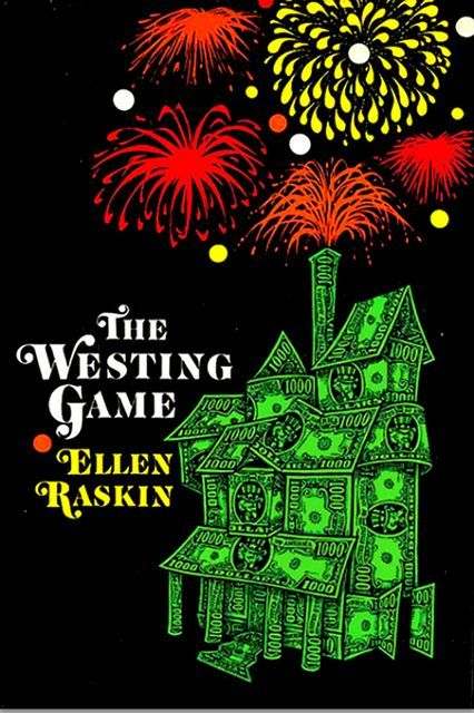 The Westing Game Author: Ellen Raskin First published: 1979 Mysterious millionaire Sam Westing gathers sixteen potential heirs to his fortune together in the Sunset Towers apartment building on Lake Michigan. They are divided into pairs and given a set of clues that will reveal who murdered Westing. The pair that solves the mystery will inherit Westing's fortune and paper product company.
