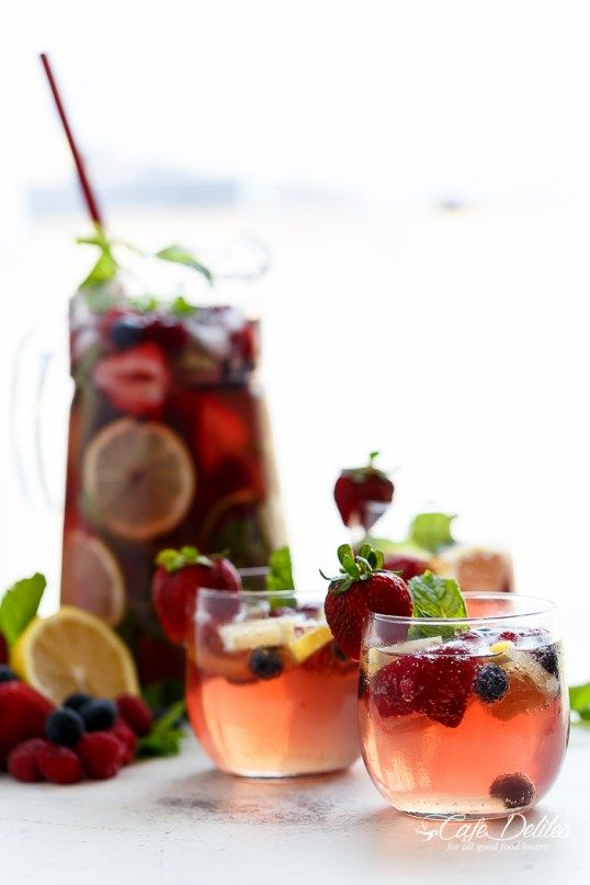 Berry Limoncello Sangria is a beautiful and refreshing spin on a traditional sangria! Use Rosé or any wine or Champagne to ring in the new year!