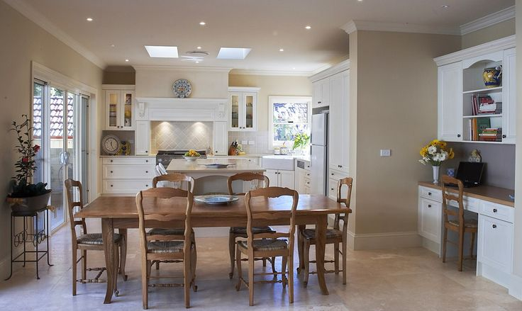 modern french home plans   French Provincial plus modern style kitchen design « Modern