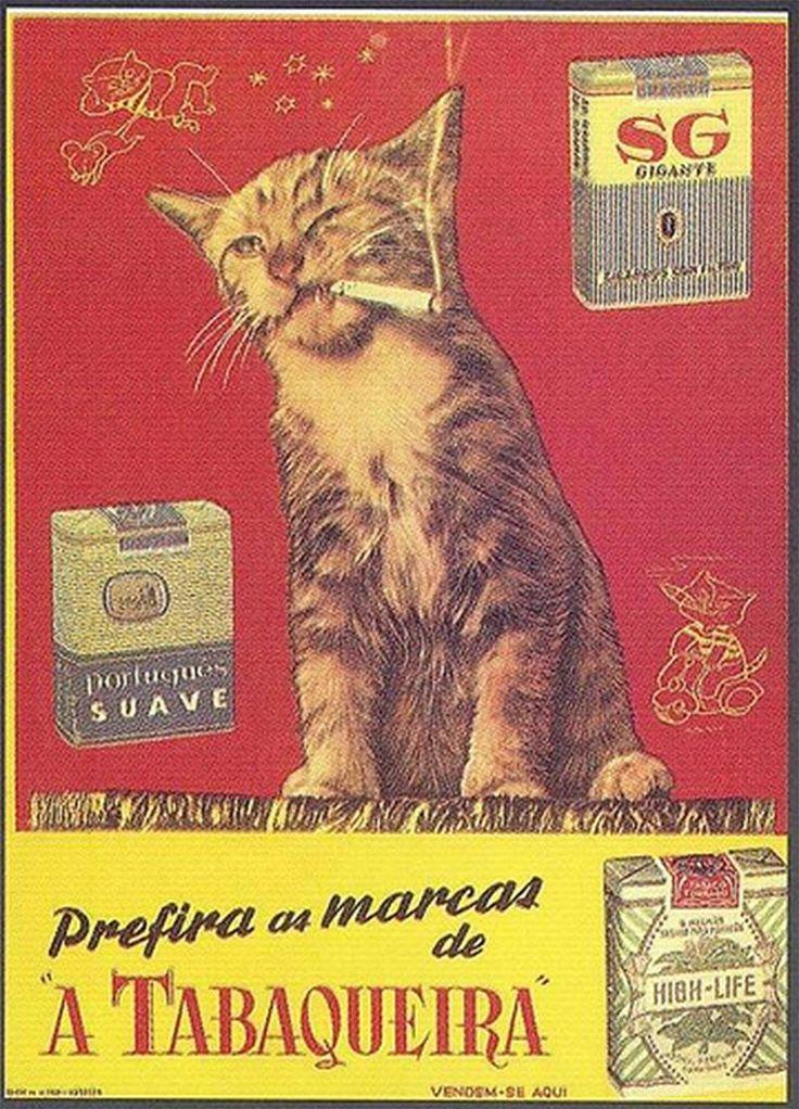 Vintage Portuguese tobacco ad