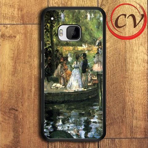 Grenouillere HTC One M9 Plus Black Case