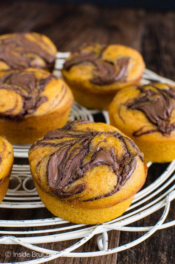 Tök Nutella muffin