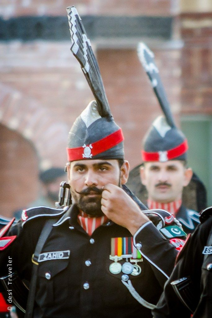 Pakistan Rangers Wagah Border Parade - Indians and Pakistanis may belong to two different countries, but around the world, we are still desi and in my opinion desi Humans