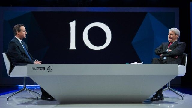 Cameron mauled by Paxman grilling but poll says he won first debate | Politics | The Guardian