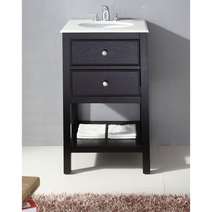 """Varick Gallery® Whitman 21"""" Single Bathroom Vanity Set"""