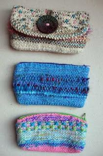Ruth's weaving projects: Little bags                                                                                                                                                                                 More