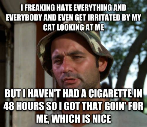 I just quit smoking, and smoked for many years, but found this so ...