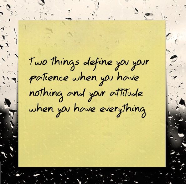 What Defines You ?!