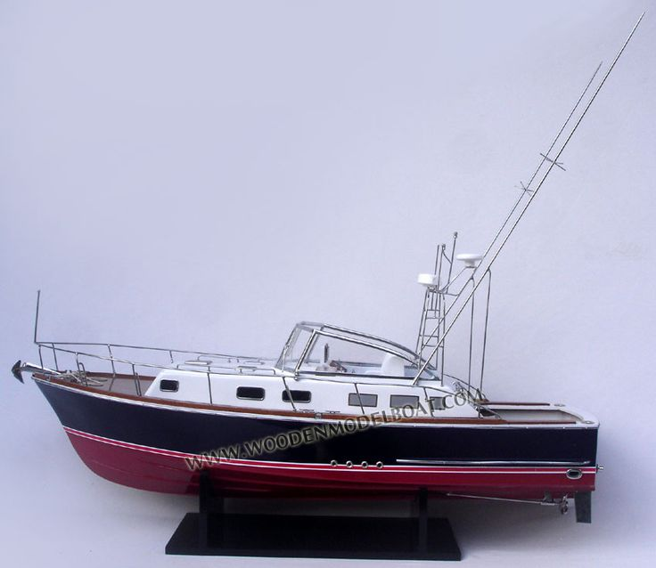 MODEL BOAT GRAND BANK 38 EASTBAY EXPRESS