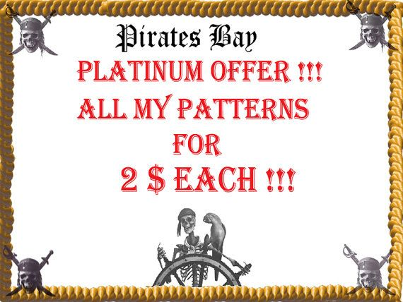 Super Platinum Saving  all patterns for 2 by PiratesOfTheBeads