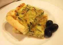 Zafferano-Anicestellato - torta di porri, zucchine, taleggio