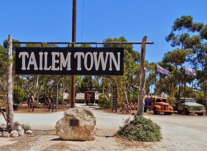 Old Tailem Town is a pioneer village - a town re-created to be a museum of life in the early years of the twentieth century.