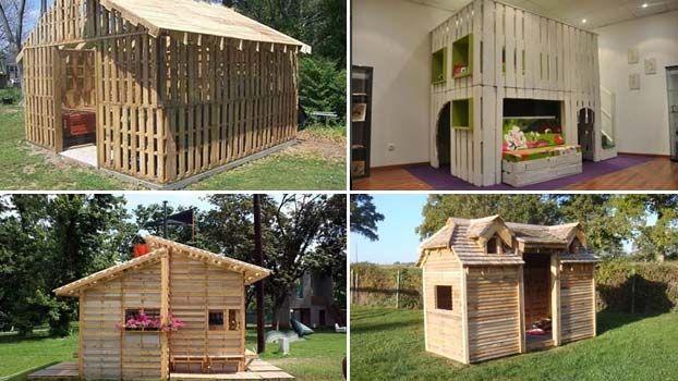 Idee per realizzare case in pallet di legno