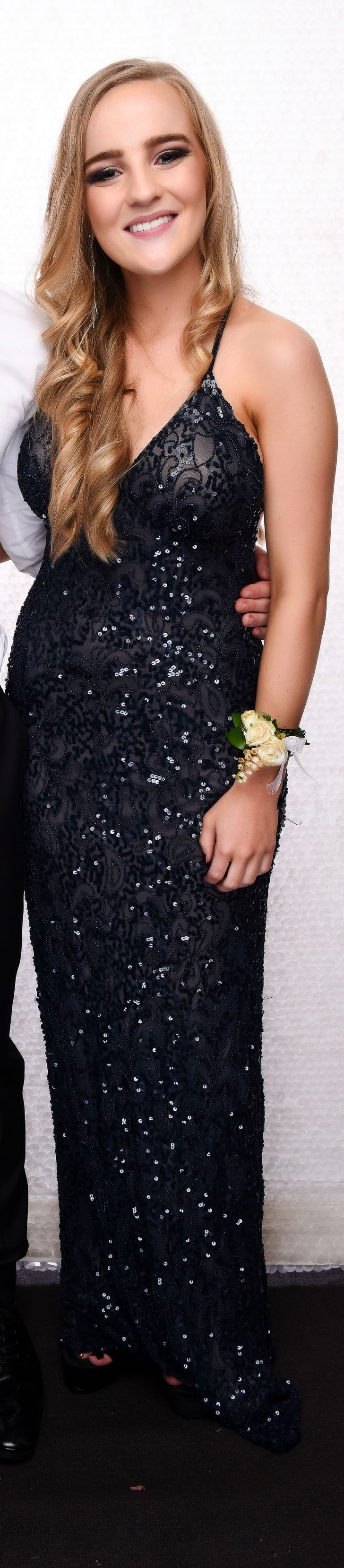 St Cuth's School Ball 2017. Love all the detail in this gown!