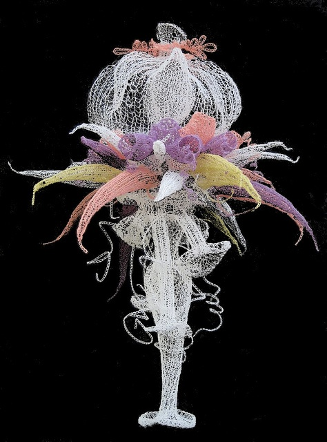 Anita Bruce: interpretation of Haeckel's Siphonophora