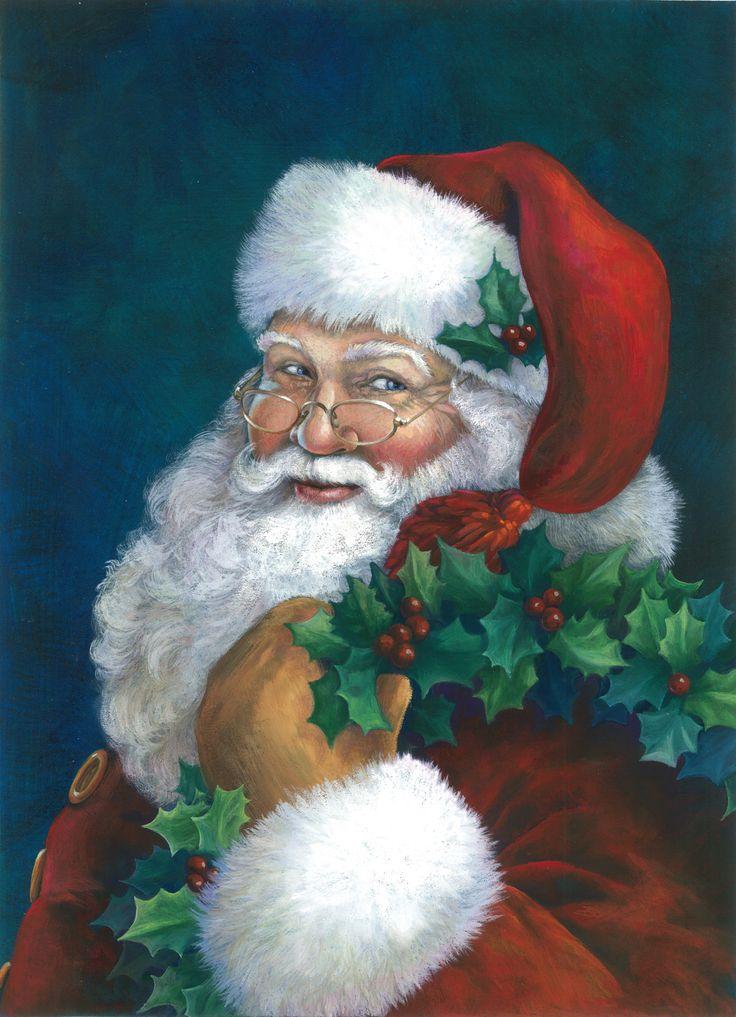 Prime Top 25 Ideas About Santa On Pinterest Christmas Art Christmas Easy Diy Christmas Decorations Tissureus