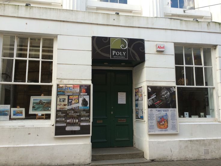The Poly in Falmouth Town - dedicated to promoting the arts, sciences and all things Cornish
