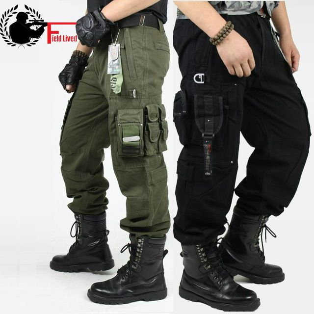 Aliexpress Men. CARGO PANTS Overalls Men's Millitary Clothing TACTICAL PANTS MILITARY Knee Pad Male US Combat Camouflage Army Style Camo Trouser