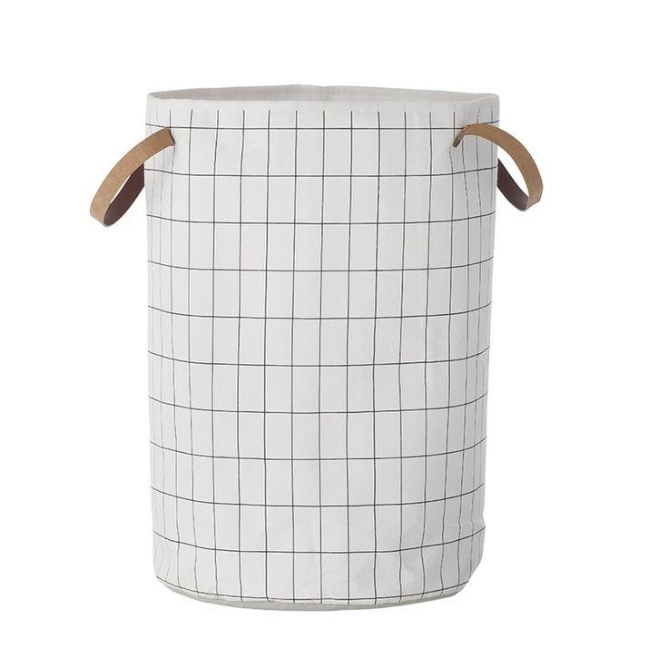 Ferm Living Vasketøjskurv Grid