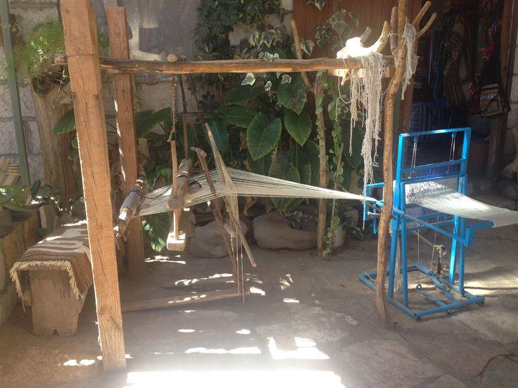 Taller telar en Toconao