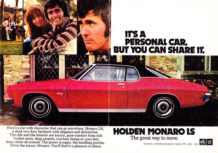https://flic.kr/p/eXWM99 | 1972 HQ Holden Monaro LS Aussie Original Magazine Advertisement | Luxury version of the Monaro. Pretty much a 2 door Premier.