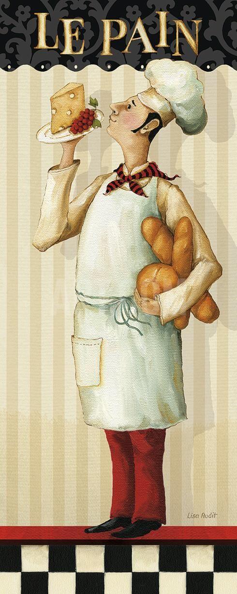 Chef's Masterpiece III Art Print by Lisa Audit at Art.com