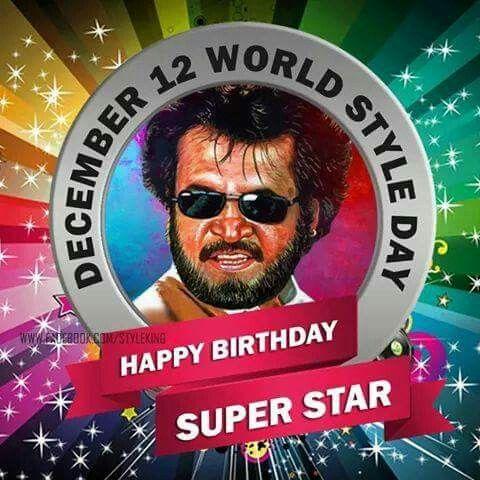 Happy Birthday Thalaivaaaaa ;)