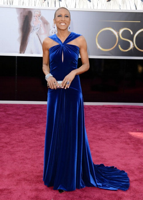"""The 15 Best Bodies at the Oscars: Robin Roberts of """"Good Morning America,"""" healthy after a bone marrow transplant"""
