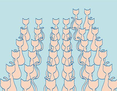 "Check out new work on my @Behance portfolio: ""Forty-four cats"" http://on.be.net/1SEeYG2"
