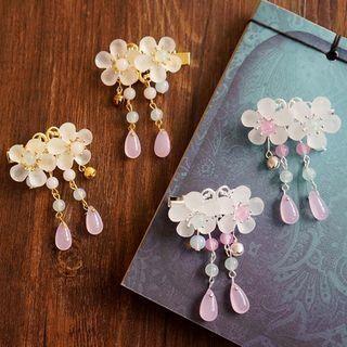 #YesStyle Accessoires - KOSUKE Retro Haarspange mit Blumenfransen