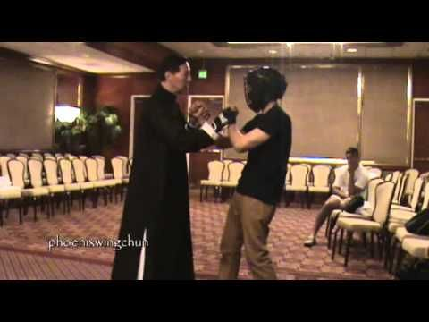Sifu Samuel Kwok Demonstrating Basic Wing Chun Techniques
