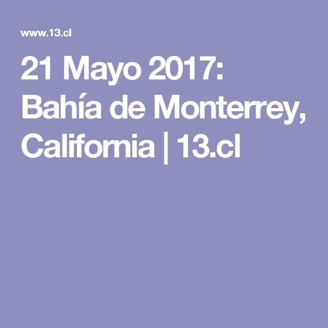 21 Mayo 2017: Bahía de Monterrey, California | 13.cl