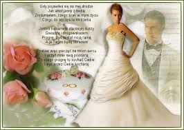 Znalezione obrazy dla zapytania życzenia z okazji ślubu