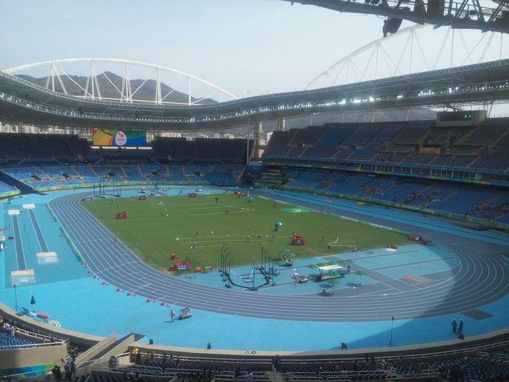 Estádio Nilton Santos RJ sede das Olimpíadas e Paraolimpiadas Rio 2016