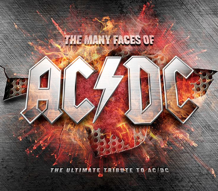 Artistes variés   The Many Faces of AC/DC (Musicbrokers)CD 1 - AC/DC´s MUSIC CELEBRATION 1.Back In Black - Joe Lynn Turner (Rainbow) & Phil Collen (Def Leppard) 2.Highway To Hell - Quiet Riot 3.You Shook Me All Night Long - Jetboy 4.It´s A Long...