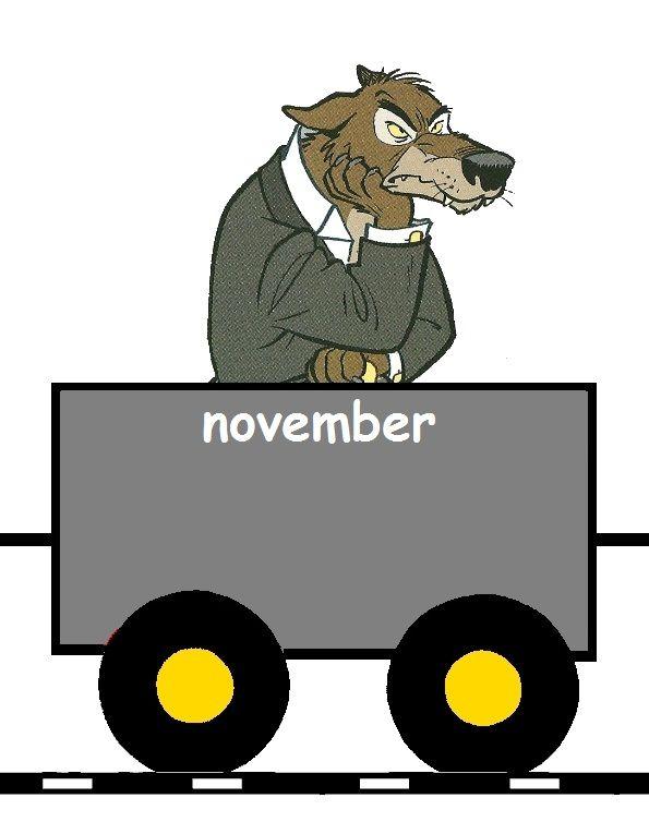 Verjaardagstrein: November