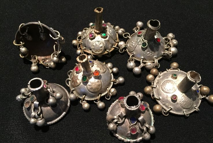 Vintage Tassels Beads,Vintage beads,Kochi tribe, Handmade Vintage Finding-Jewellery Supplies-Vintage Beads Suppliers by JewelsofNomads on Etsy